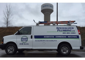 Belleville plumber Specialized Plumbing Ltd.