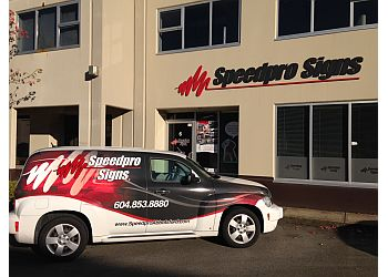 Abbotsford sign company Speedpro Signs