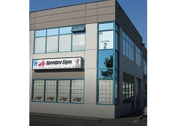 Maple Ridge sign company Speedpro Signs