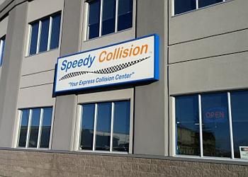 Airdrie auto body shop Speedy Collision