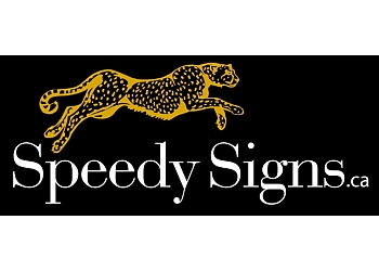 Orillia sign company Speedy Signs