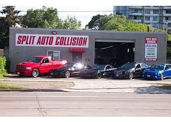 Hamilton auto body shop Split Auto Services Inc.