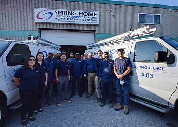 Spring Home Heating & Cooling Systems Inc.