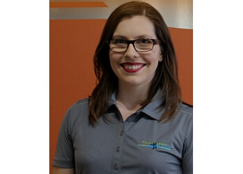Sherbrooke physical therapist Stéphanie Bourbonnais, PT