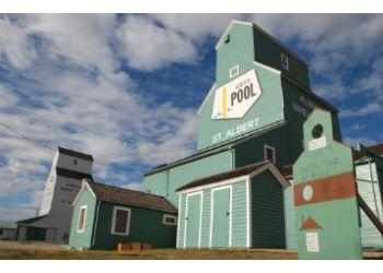 St Albert landmark St. Albert Grain Elevator Park