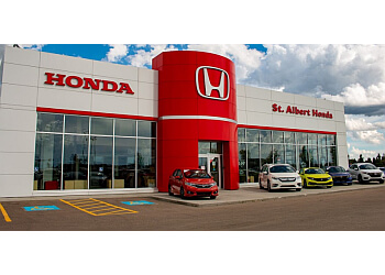 St Albert car dealership St. Albert Honda