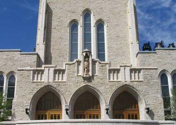 Edmonton church St. Joseph's Basilica