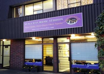 Burnaby music school Staccato Music Studios