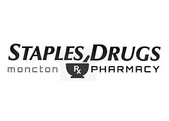 Moncton pharmacy Staples Drugs