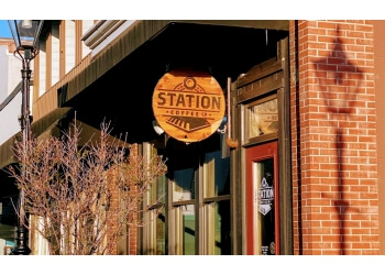 Medicine Hat cafe Station Coffee Co.