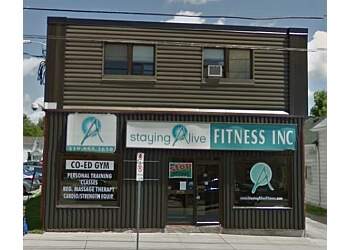 Halton Hills gym Staying Alive Fitness