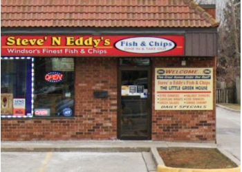 Windsor fish and chip Steve & Eddy's Fish & Chips
