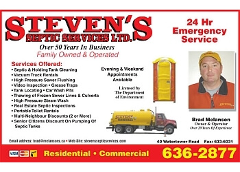 Steven's Septic Services