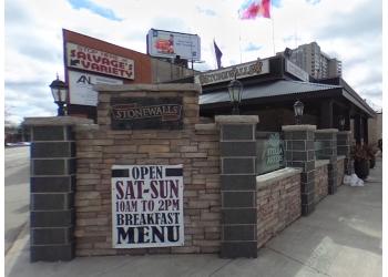 Hamilton sports bar Stonewalls Restaurant