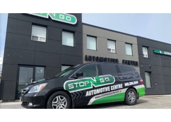 Burlington car repair shop Stop N Go Automotive Centre