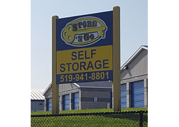 Orangeville storage unit Store 'N Go Self Storage