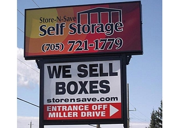 Barrie storage unit Store-N-Save Self Storage