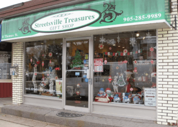 Mississauga gift shop Streetsville Treasures