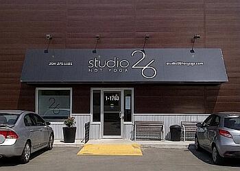 Winnipeg yoga studio Studio 26 Hot Yoga