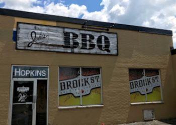 Whitby bbq restaurant Stuttering John's Smokehouse