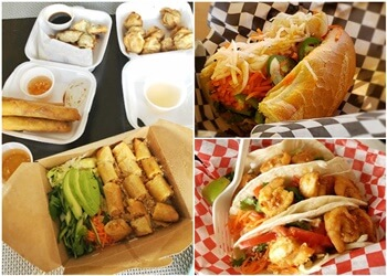 Calgary food truck Subs 'n' Bubbles