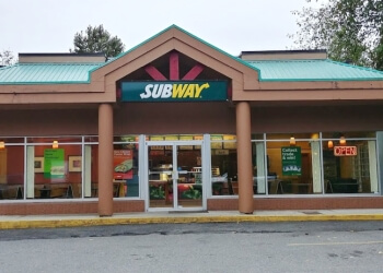 Coquitlam sandwich shop Subway