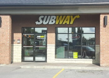 Gatineau sandwich shop Subway