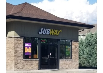 Kelowna sandwich shop Subway