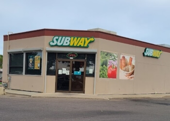 Medicine Hat sandwich shop Subway