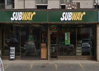 Milton sandwich shop Subway