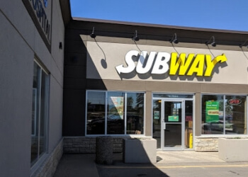 Red Deer sandwich shop Subway