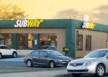 St Johns sandwich shop Subway
