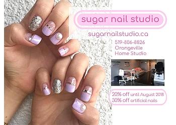 Orangeville nail salon Sugar Nail Studio