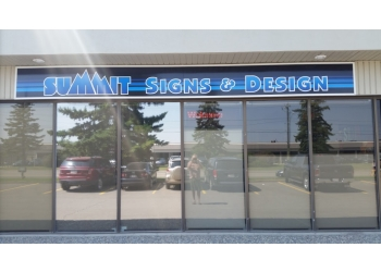 Calgary sign company Summit Signs & Design