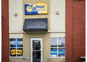Edmonton tanning salon Sun Depot Tanning  Salon