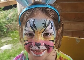 Toronto face painting Sunny Bunny Face Painting