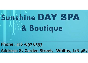 Whitby spa Sunshine day spa