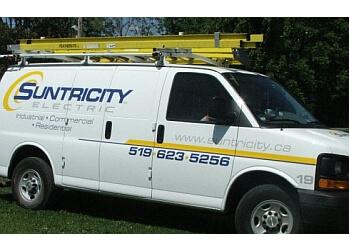 Cambridge electrician Suntricity Electric, Inc.