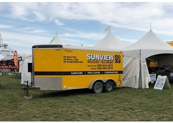 Saskatoon window company Sunview Windows and Solariums