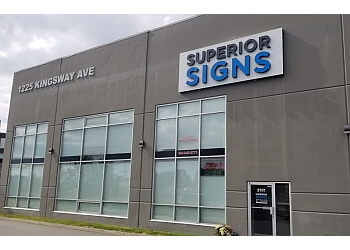 Port Coquitlam sign company Superior Signs