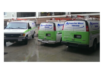 Burnaby electrician Superior West Electric Ltd.