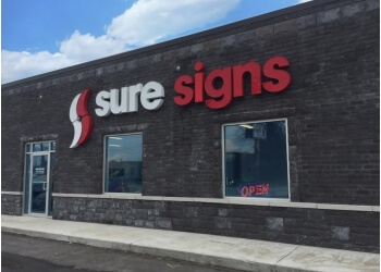Sarnia sign company Sure Signs Inc.