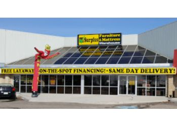 Saskatoon furniture store Surplus Furniture and Mattress Warehouse