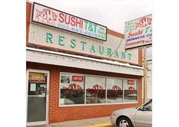 Ajax sushi  Sushi T & T Japanese Restaurant
