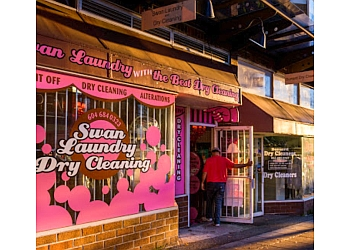 Vancouver dry cleaner Swan Coin Laundry