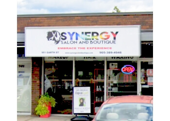 Hamilton hair salon Synergy Salon & Boutique