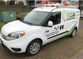Vancouver electrician TDR Electric Inc.