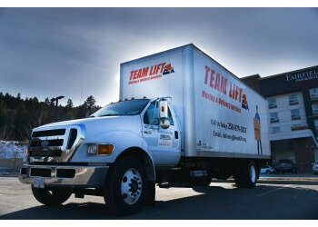 Kamloops moving company TEAMLIFT Moving & Delivery services