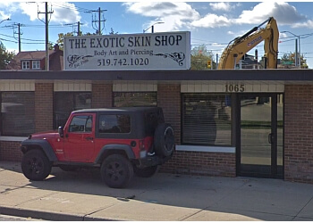 Kitchener tattoo shop THE EXOTIC SKIN SHOP