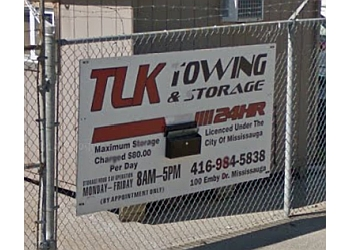Mississauga towing service TLK Towing